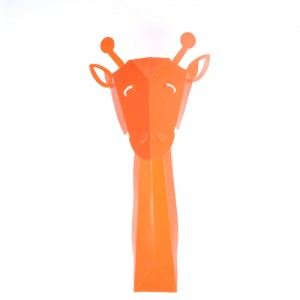 sticker 3D girafe