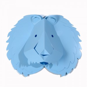 sticker 3D lion